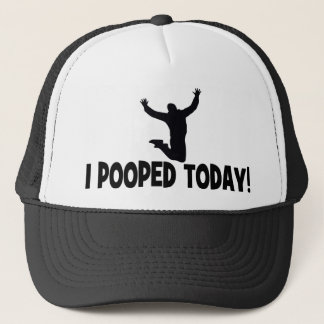 Lustig kackte ich heute Hüte Truckerkappe
