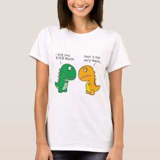 Lustig-t-Rex-klein-ArmCartoon T-Shirt