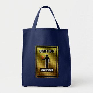 Lustig wird dieses von Satan selbst geschützt Einkaufstasche