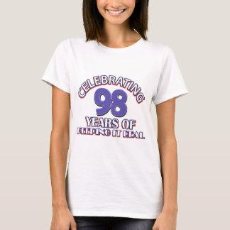 Lustige 98. Geburtstagsentwürfe T-Shirt