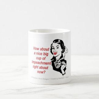 Lustige Anklagen-Tasse, feministische Tasse