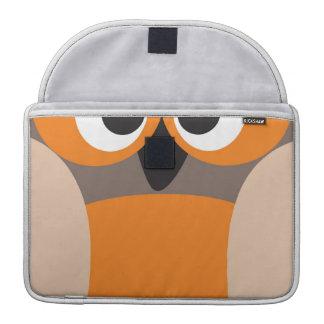 Lustige Anstarreneule Macbook Prohülse MacBook Pro Sleeve