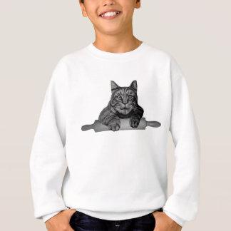 lustige Bäcker Katze Purrfect Sweatshirt