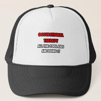 Lustige beruflicher Therapeut-Shirts und Geschenke Truckerkappe