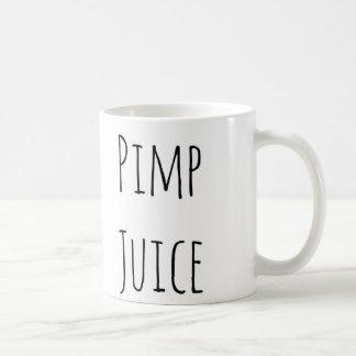 Lustige bestselling Kaffee-Tasse des Zuhältersafts Tasse