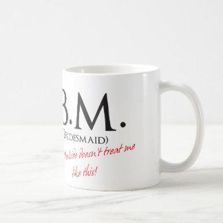 Lustige Brautjungfer Tasse
