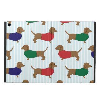 Lustige bunte Dackel-Hunde, iPad Air ケース