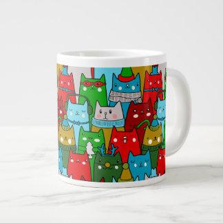 Lustige bunte Jumbo-Mug