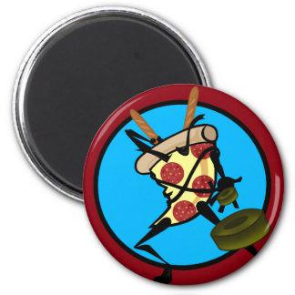 LUSTIGE CARTOON NINJA PIZZA-RUNDER MAGNET RUNDER MAGNET 5,1 CM
