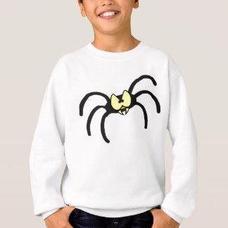 Lustige Cartoon-Schwarz-Spinne Sweatshirt