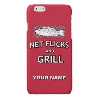 Lustige Fischen-Form-Netz-Fisch-Witz-Parodie