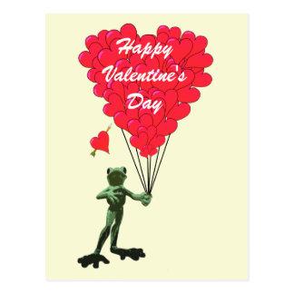 Lustige Frosch Und Herz Valentinsgru0026#252 ...