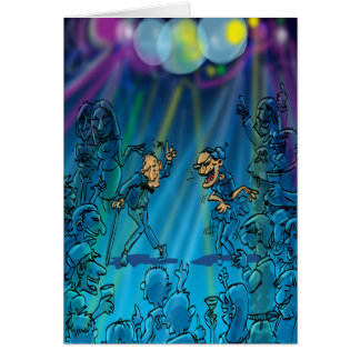 Lustige Geburtstags-Witze - Tanz-Verein Grußkarte
