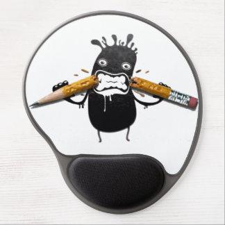 lustige Grafikbleistifte des Spaßes 3d Gel Mouse Matte