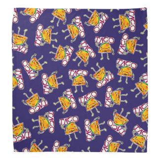 lustige Illustration der Taco-Cartoon-Art Kopftuch