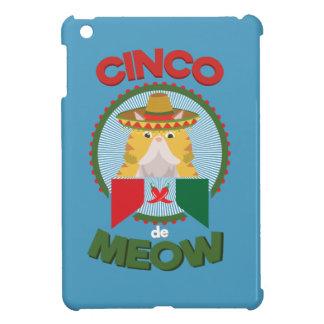 Lustige Katze für Mexikaner-Feiertag Cinco Des iPad Mini Hülle