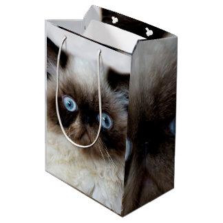 Lustige Katze Mittlere Geschenktüte