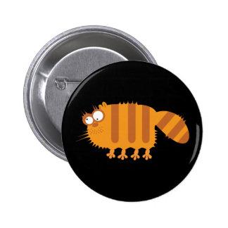 Lustige Katze Runder Button 5,7 Cm