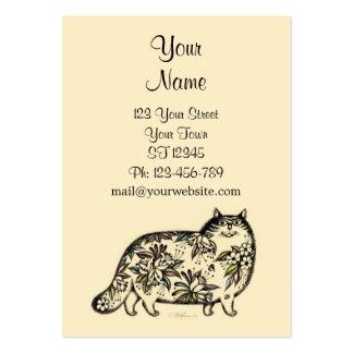 Einzigartige lustige karten mit katzen visitenkarten designs - Lustige visitenkarten ...