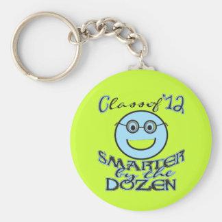 Lustige Klasse von 2012 - intelligenter im Dutzend Schlüsselanhänger