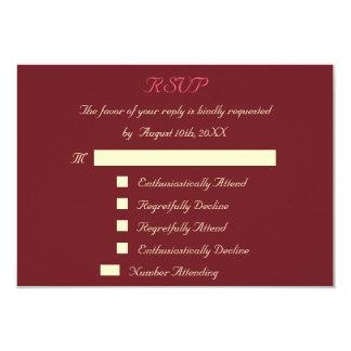 Lustige kundenspezifische Hochzeit UAWG 8,9 X 12,7 Cm Einladungskarte