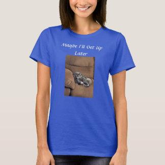 Lustige Maine-Waschbär-Katze T-Shirt