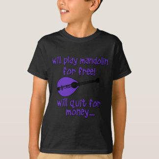 lustige Mandoline T-Shirt