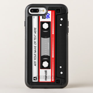 Lustige Retro Mixtape alte Mode-Audiokassette OtterBox Symmetry iPhone 7 Plus Hülle