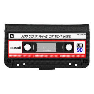 Lustige Retro Musik-Kassette iPhone 8/7 Geldbeutel-Hülle