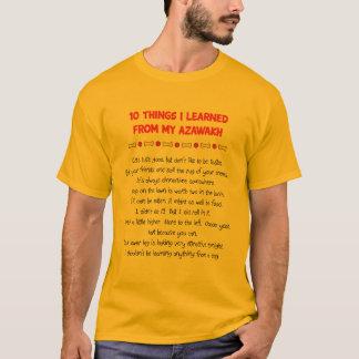 Lustige Sachen I gelernt von meinem Azawakh T-Shirt