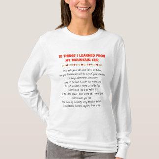 Lustige Sachen I gelernt von meiner T-Shirt
