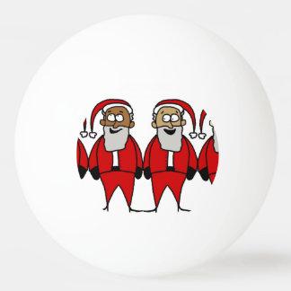 Lustige Sankt Tischtennis Ball