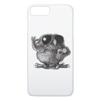 Lustige tierische coole Eule iPhone 8 Plus/7 Plus Hülle