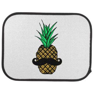 Lustige tropische Ananas mit dem Schnurrbart Automatte