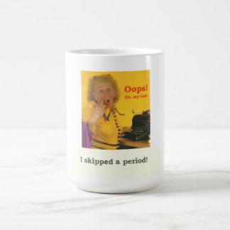 Lustige ÜBERRASCHUNG älterer Bürger-Karte Kaffeetasse