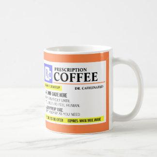 Lustige Verordnungs-Kaffee-Tasse Tasse