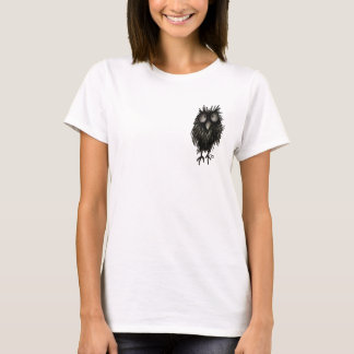 Lustige verrückte Eule T-Shirt