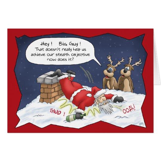 lustige weihnachtskarten heimlichkeits ziel karte. Black Bedroom Furniture Sets. Home Design Ideas