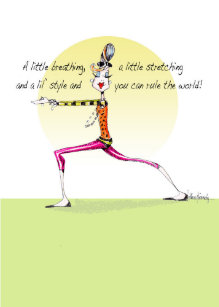 Lustige Yoga Posen Karten Zazzle At