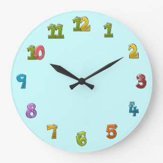 Lustige Zahl Uhren, Lustige Zahl Wanduhren