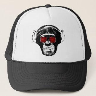 Lustiger Affe Truckerkappe