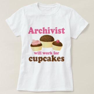 Lustiger Archivar T-Shirt