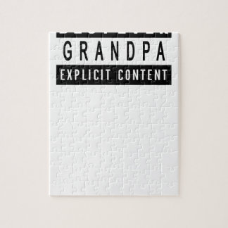 Lustiger bester Großvater-überhaupt T - Puzzle