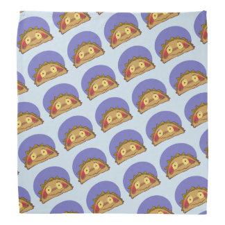 lustiger Cartoon des süßen Tacocharakters Kopftuch