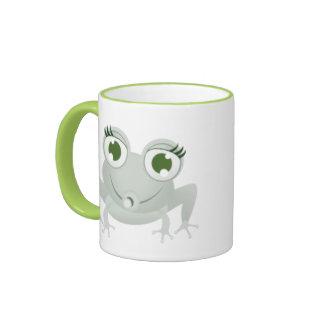 Lustiger Frosch Ringer Tasse