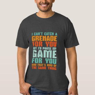 Lustiger Gamer-Liebe-T - Shirt pausiere ich mein