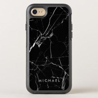 Lustiger gebrochener schwarzer OtterBox symmetry iPhone 8/7 hülle