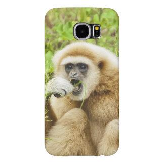 Lustiger Gibbon - Kasten Samsung-Galaxie-S6