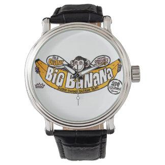 Lustiger großer Bananengummi Armbanduhr