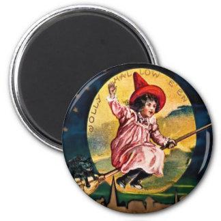 Lustiger Hallowe'en Magnet Runder Magnet 5,1 Cm
